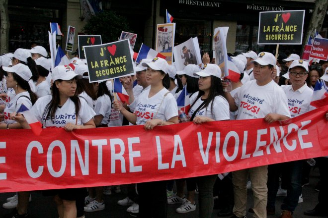chinois aubervilliers racisme securite