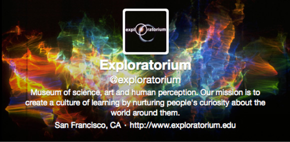 Exploratorium Twitter Header