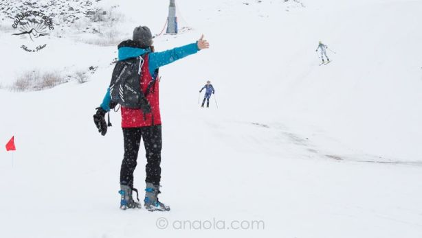 Voluntarios Carrera Esquí Montaña CX