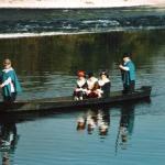 Arrivo dei Barcaioli