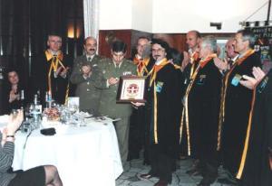 Scambio Crest dei Cavalieri del Fiume Azzurro e del RIMZ SABOYA N.6