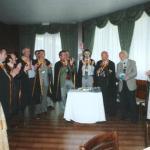 Foto di Gruppo dei Cavalieri del Fiume Azzurro e Pietro Tenconi