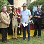 Bertoni Angiolini riceve la medaglia commemorativa