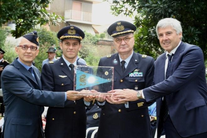 Col. Ciorra Fanigliulo - AM Milano e Sindaco-cimeli