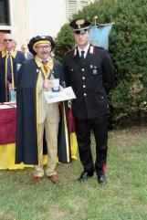 Bertoni e Maresciallo - consegna medaglia