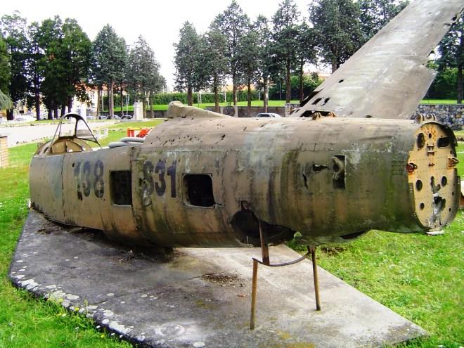 Fiat G-59 prima del restauro