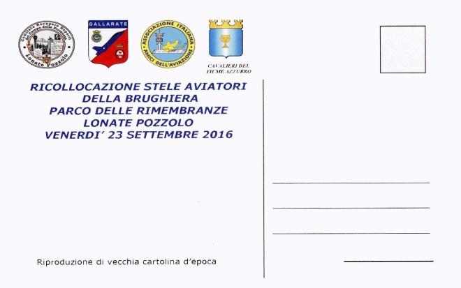 Retro cartolina Cippo