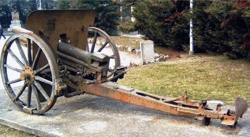 Ripristino conservativo del cannone 75/27 – 1912 Krupp