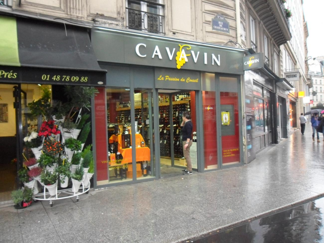 wine shop paris 9 cavavin group