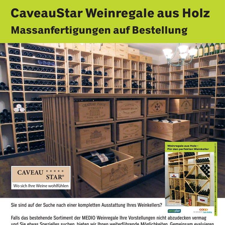Masskeller-Service von CaveauStar für Coop B+H