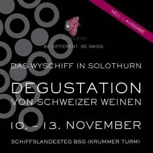 Plakat Wyschiff Solothurn