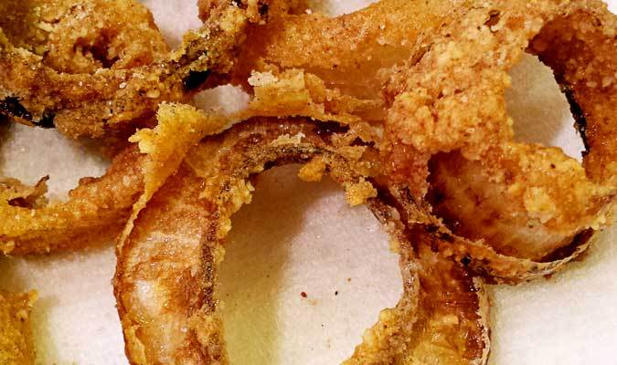 Seriously Delicious Onion Rings