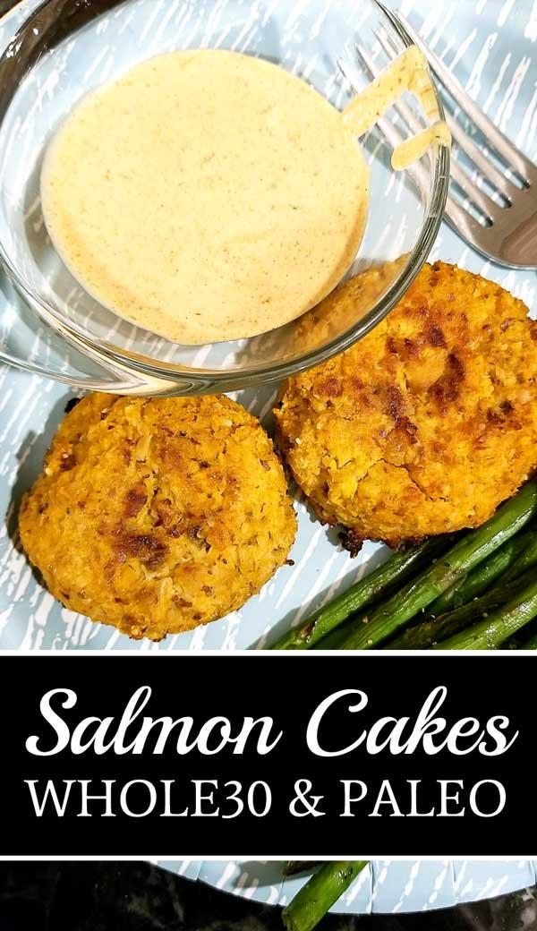 Whole 30 Salmon Cakes