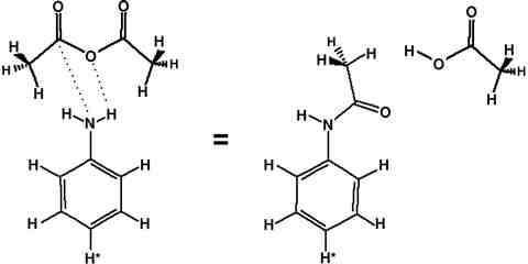 Equation 26-1. From Aniline to Acetanilide