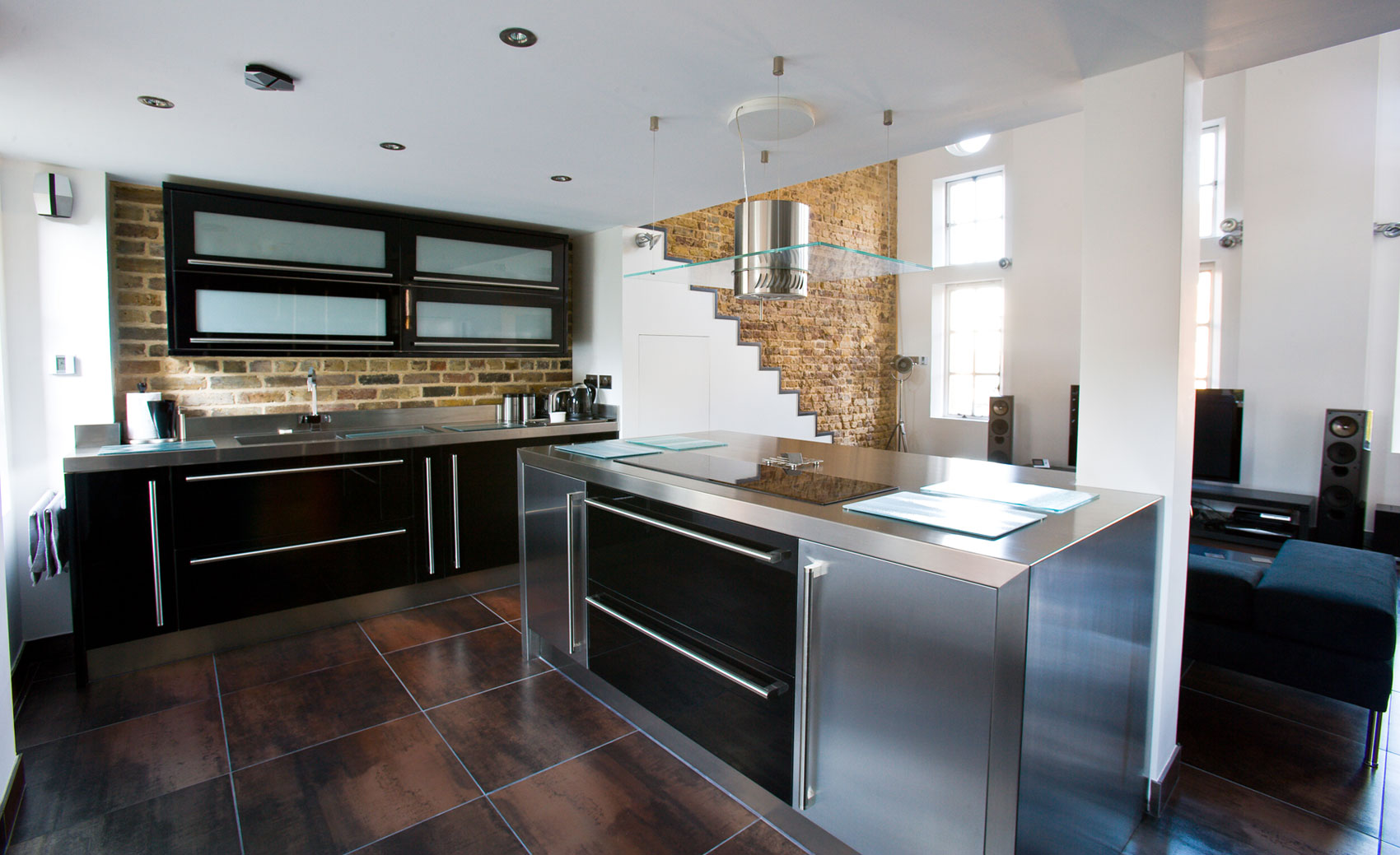 stainless kitchen expandable table steel cabinet worktops splash backs uk cavendish equipment