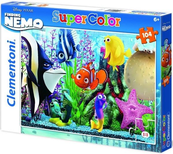 Clementoni 27883 puzzle enfant 104 pièces monde de némo Disney