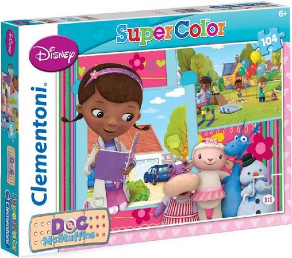 Clementoni 27877 puzzle docteur la peluche 104 pièces