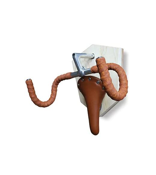 Fiets ophangsysteem  Muurbeugel bruin