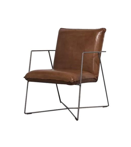 Leren Fauteuil kopen  Vintage  industriele fauteuils op