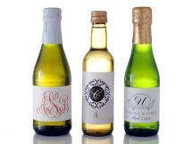 Mini Wine Bottle Label Size