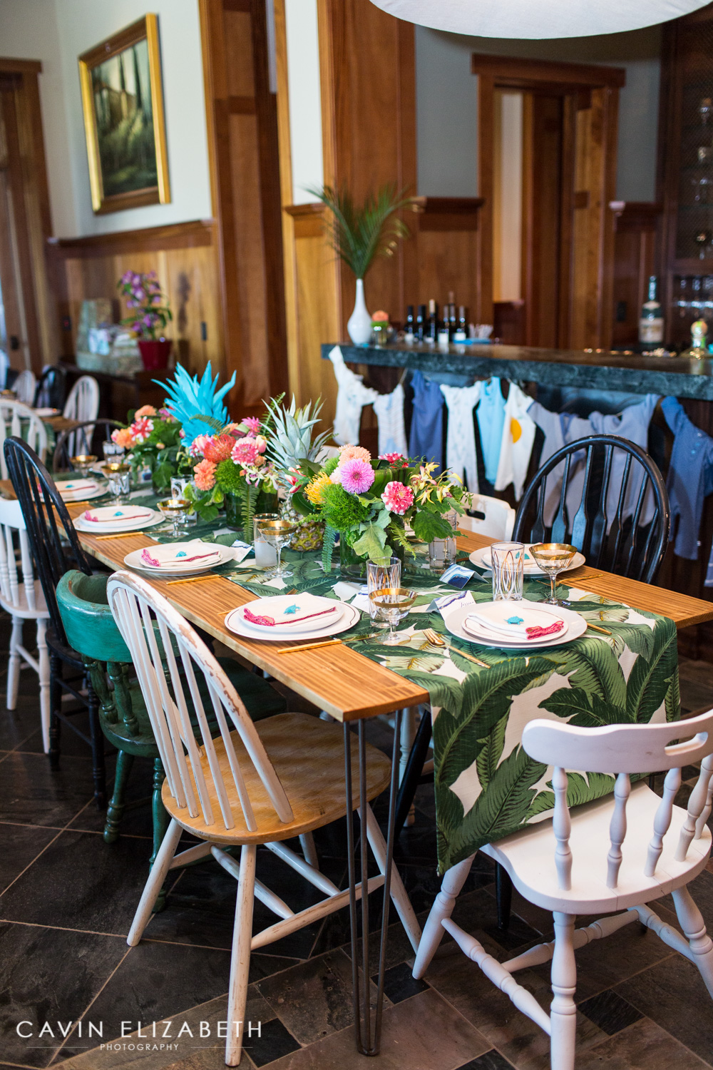 Luxury Tropical Baby Shower in San Diego