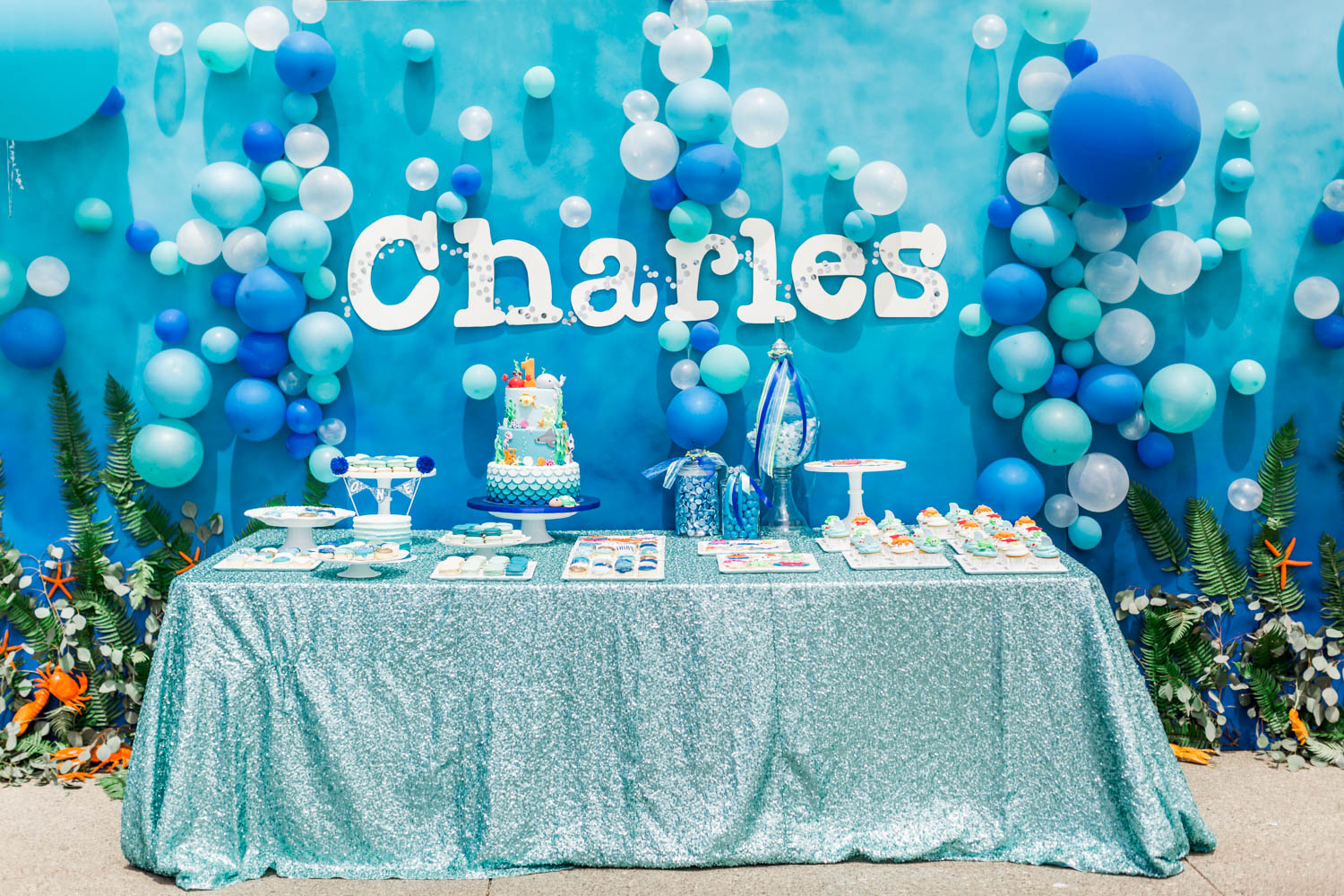Wedding Display How Bubbles