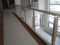 Frameless Glass Railing | Cavitetrail, Glass Railings ...