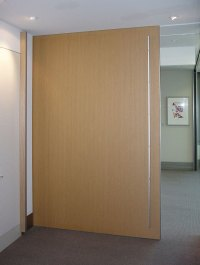 Full-Height Sliding Door Track