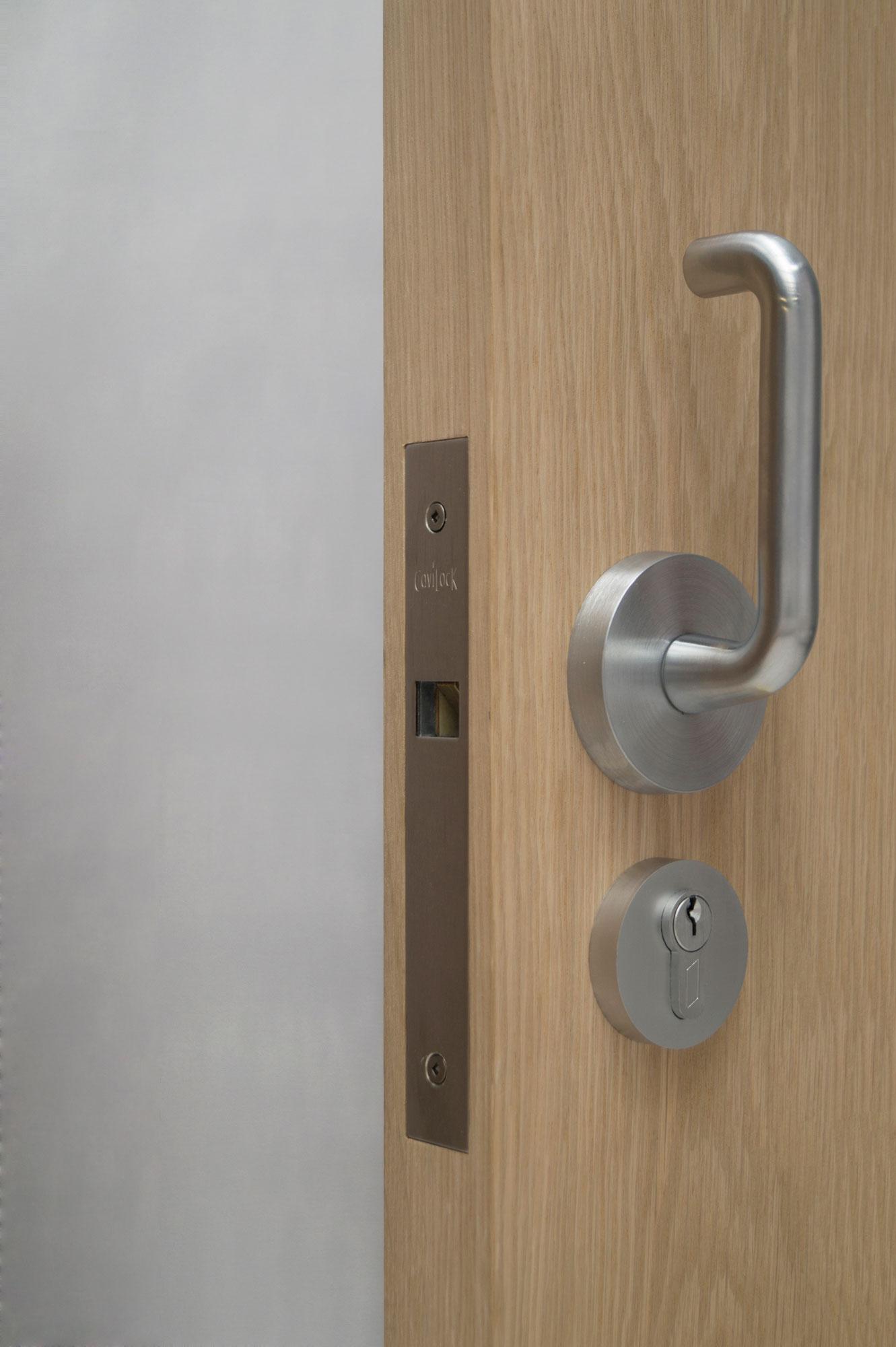 Cl100 Lever Pocket Door Hardware
