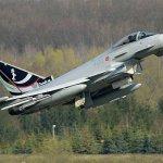Caças Eurofighter da Itália atingem 94% de disponibilidade operacional em exercício da OTAN