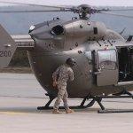 O primeiro helicóptero UH-72A do U.S. Army chega e é montado na Alemanha