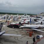 """Começou hoje na Suíça a """"EBACE 2010"""", Feira de Aviação Executiva na Europa"""