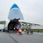 Aeronave de transporte Antonov An-225 Mriya quebra outro recorde mundial