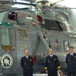 Marinha doa helicóptero para o museu da TAM