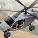 Conceito de carro voador ATX – o veículo utilitário VTOL