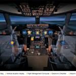 IMAGEM: Cockpit do Boeing 747-8