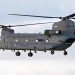 Voa o primeiro helicóptero CH-47F Chinook da Força Aérea da Holanda
