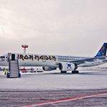 "IMAGENS: Boeing 757 da banda Iron Maiden, o ""Ed Force One"""