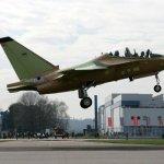 IMAGENS: Voa pela primeira vez o jato de treinamento T-346A da Força Aérea Italiana