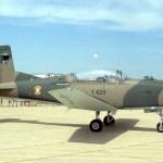 Acidente com dois aviões de treinamento PC-7 da Força Aérea de Botswana
