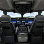 IMAGENS: Bombardier apresenta a nova cabine do jato CSeries no Dubai Airshow