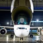 IMAGENS: Primeira fuselagem frontal do Airbus A350 XWB chega em Toulouse para montagem final