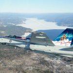 Equipe de Demonstração CF-18 Hornet da Força Aérea do Canadá estará presente no aniversário de 60 anos da Esquadrilha da Fumaça