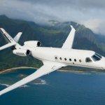 Frota de jatos executivos Gulfstream G150 atinge a marca de 100 mil horas de voo