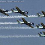 Esquadrilha da Fumaça fará sua estreia no AirVenture em Oshkosh