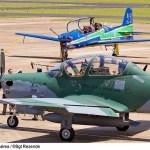 IMAGENS: Esquadrilha da Fumaça recebe oficialmente suas duas primeiras aeronaves Super Tucano