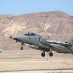 Jatos de combate AMX da Força Aérea Italiana realizam treinamento conjunto com a Força Aérea Israelense