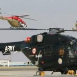 HAL entrega o primeiro helicóptero armado Rudra para o Exército Indiano