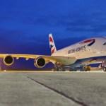 IMAGENS: Primeiro Airbus A380 da British Airways recebe sua pintura