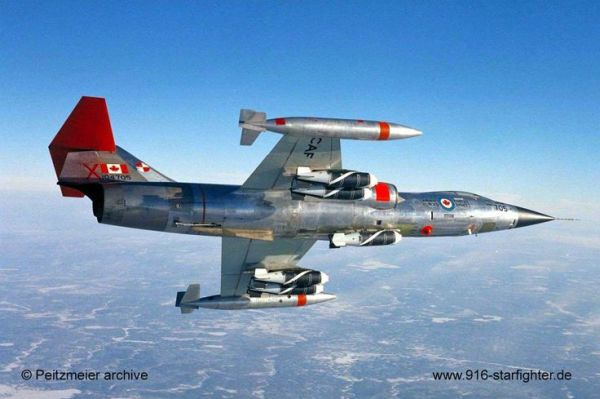 F 104 5 600x399 - CAÇAS CENTURY: Lockheed F-104 Starfighter